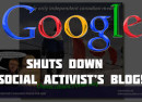 Google shuts down charles blog