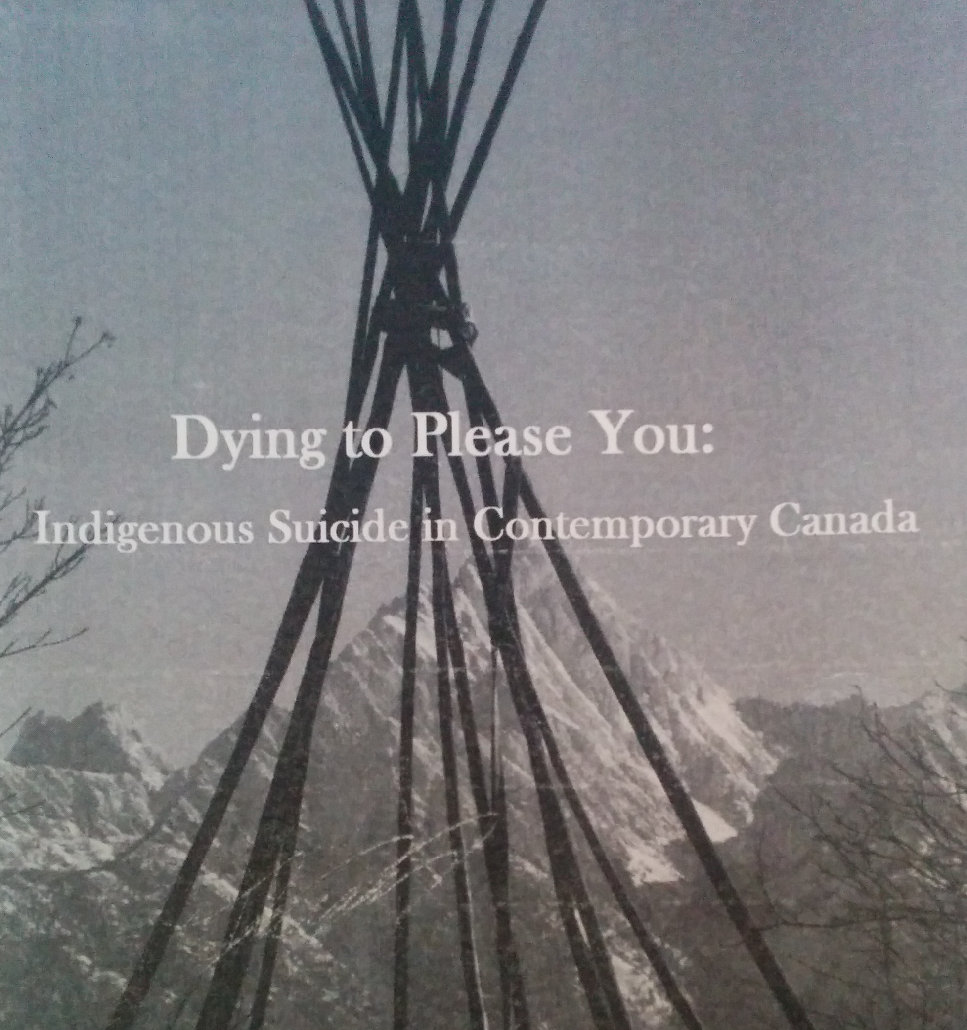 """""""We ask that you refuse to die:"""" New book focuses on Indigenous suicide in Canada today"""