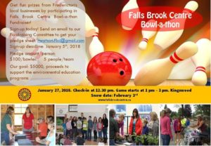 Bowl-a-thon Fundraiser for Falls Brook Centre @ Kingswood Bowling | Hanwell | New Brunswick | Canada