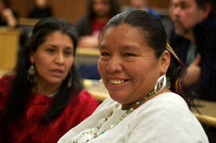 Angelica Choc is one of 13 Indigenous Mayans making human rights claims against Canadian mining company HudBay Minerals Inc. Photo by John McCarthy.