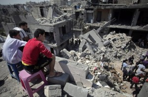 Mideast Israel Palestinians  AP