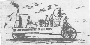Saint John Typographical Union Labour Day 1894