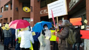 Cleary protest 2